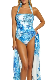 Roidal Bandeau Swimsuit - Front cropped