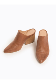 Able Rojas Mule In Cognac - Front full body