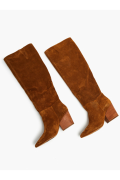 Able Rojas Tall Boot In Tobacco - Alternate List Image