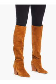 Abel Rojas Tall Boot In Tobacco - Product Mini Image