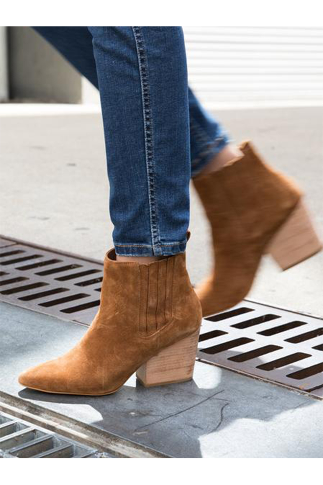 Abel Rojas Western Boot In Tobacco - Main Image