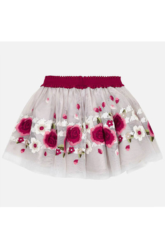 Mayoral Rojo Embroidered Skirt - Product List Image
