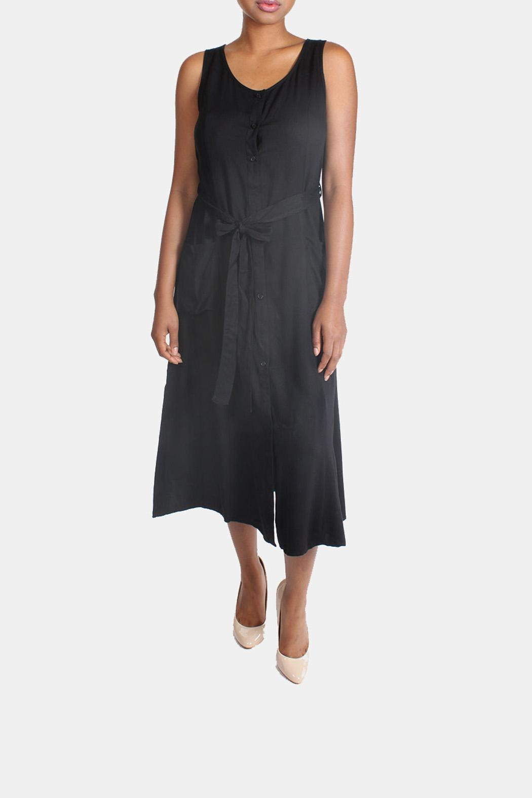 rokoko Button Down Maxi Dress - Side Cropped Image