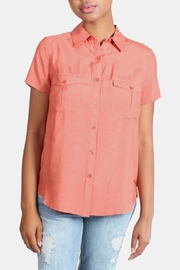 rokoko Button Down Blouse - Front full body