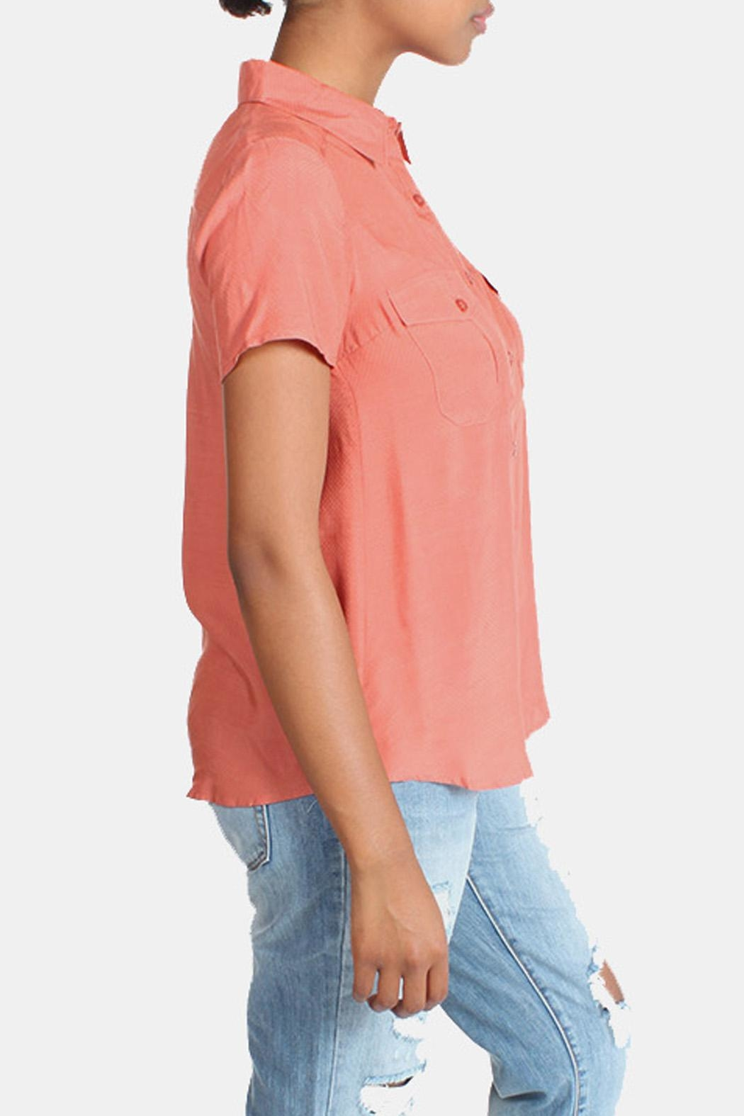 rokoko Button Down Blouse - Side Cropped Image