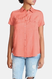 rokoko Button Down Blouse - Front cropped