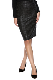 rokoko Black Plaid Skirt - Product Mini Image