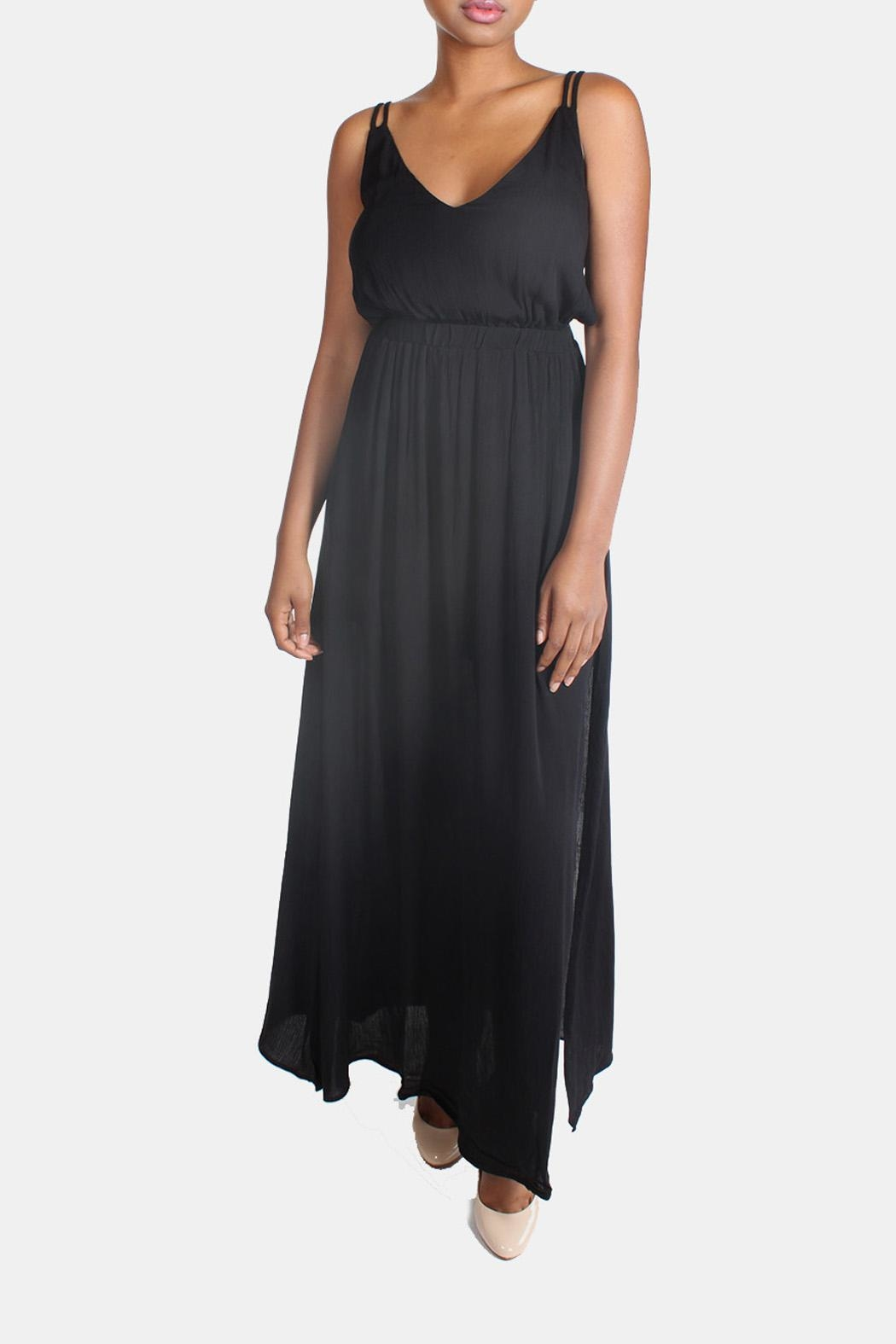 rokoko Tie Back Maxi Dress - Front Full Image