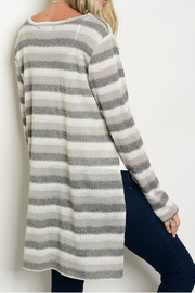 rokoko Charcoal Sweater - Side cropped