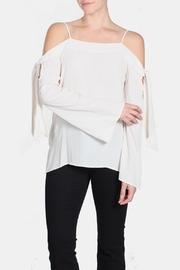 rokoko Cold Tie Sleeve Blouse - Product Mini Image