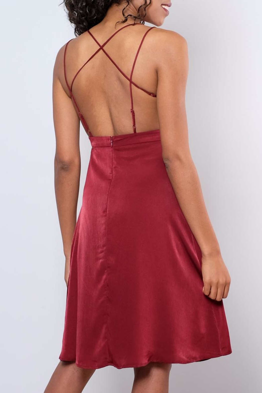 rokoko Diva Strappy Dress - Side Cropped Image