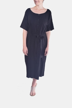 Shoptiques Product: Linen Buttondown Dress