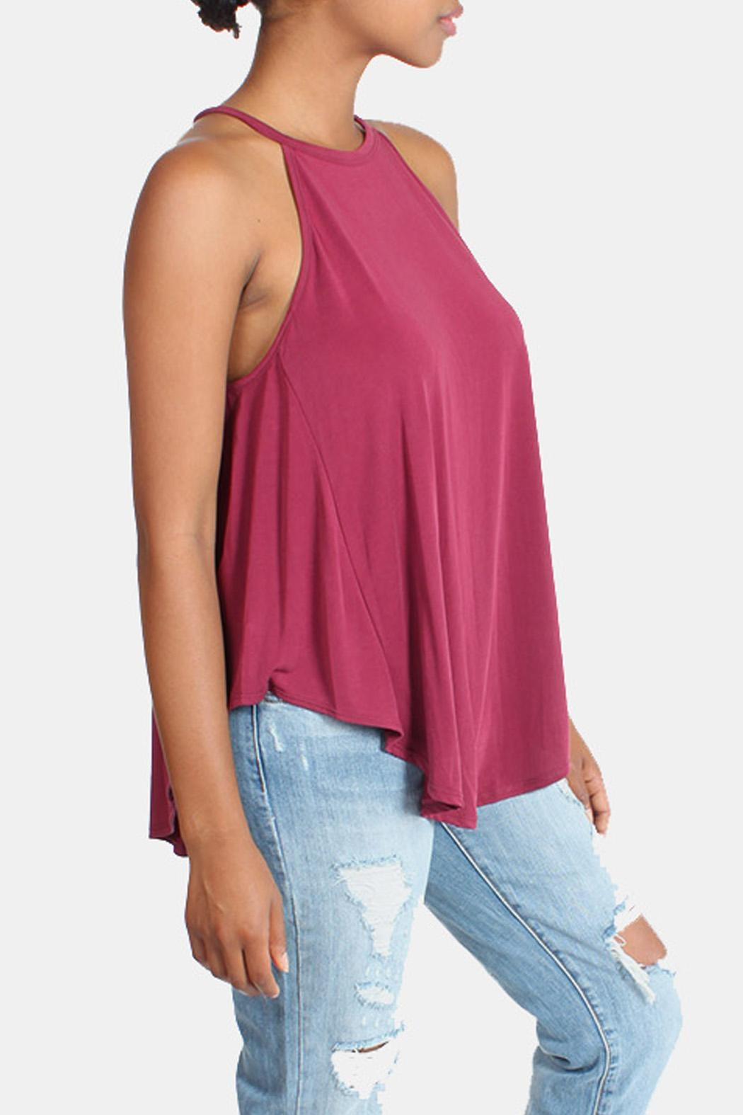 rokoko Ultra Soft Camisole Tunic - Back Cropped Image