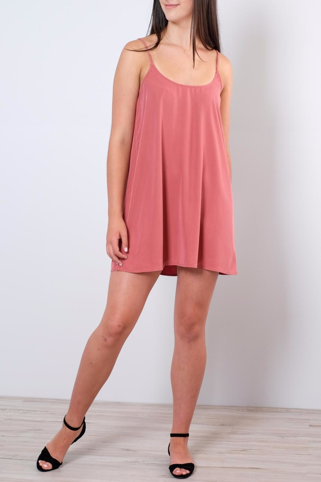 rokoko Relaxed Slip Dress - Main Image