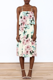 Shoptiques Product: Rose Print Midi Dress