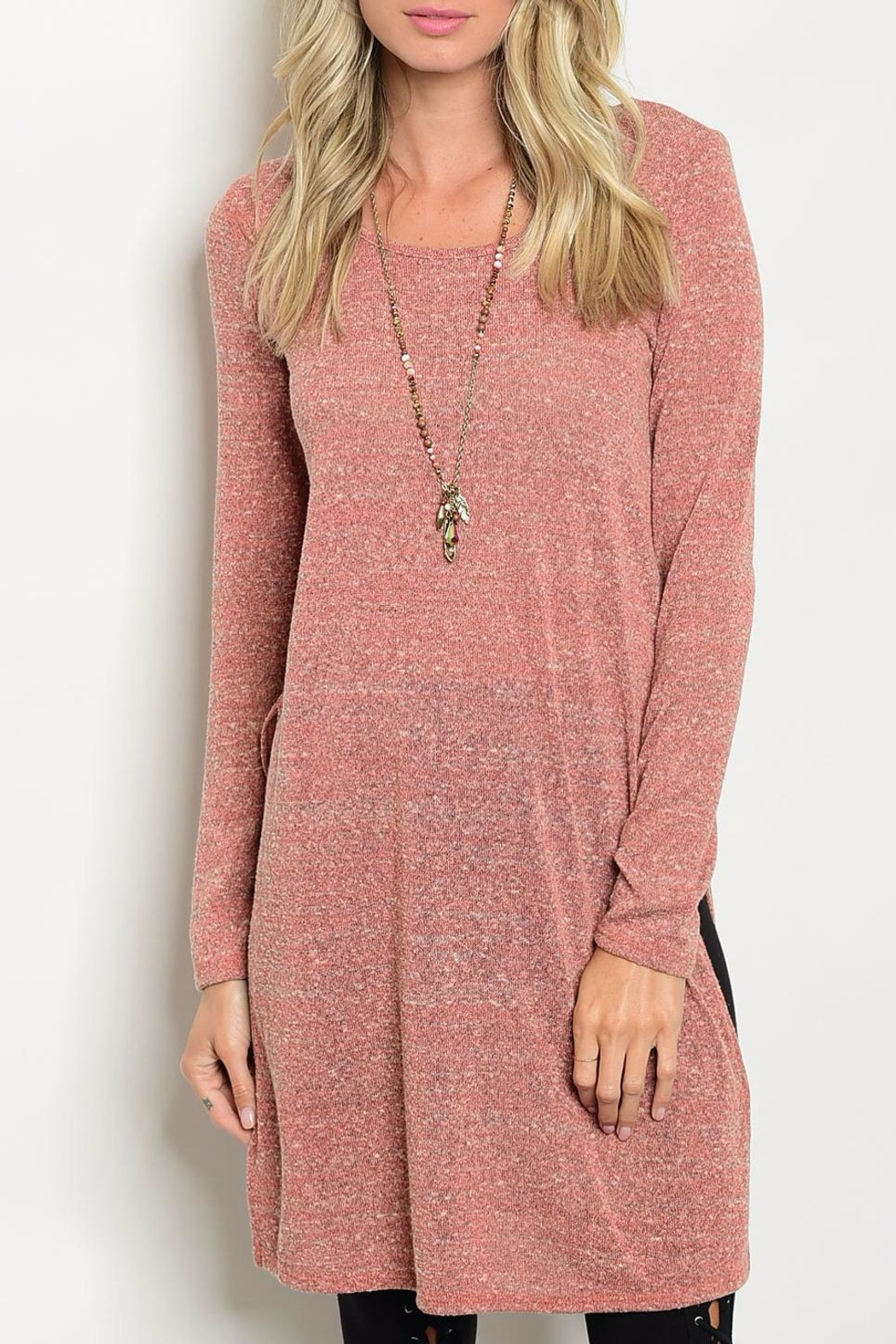 rokoko Rust Tunic Top - Main Image