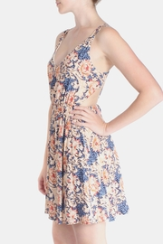 rokoko Summer Lotus Mini Dress - Back cropped
