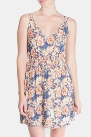rokoko Summer Lotus Mini Dress - Front full body