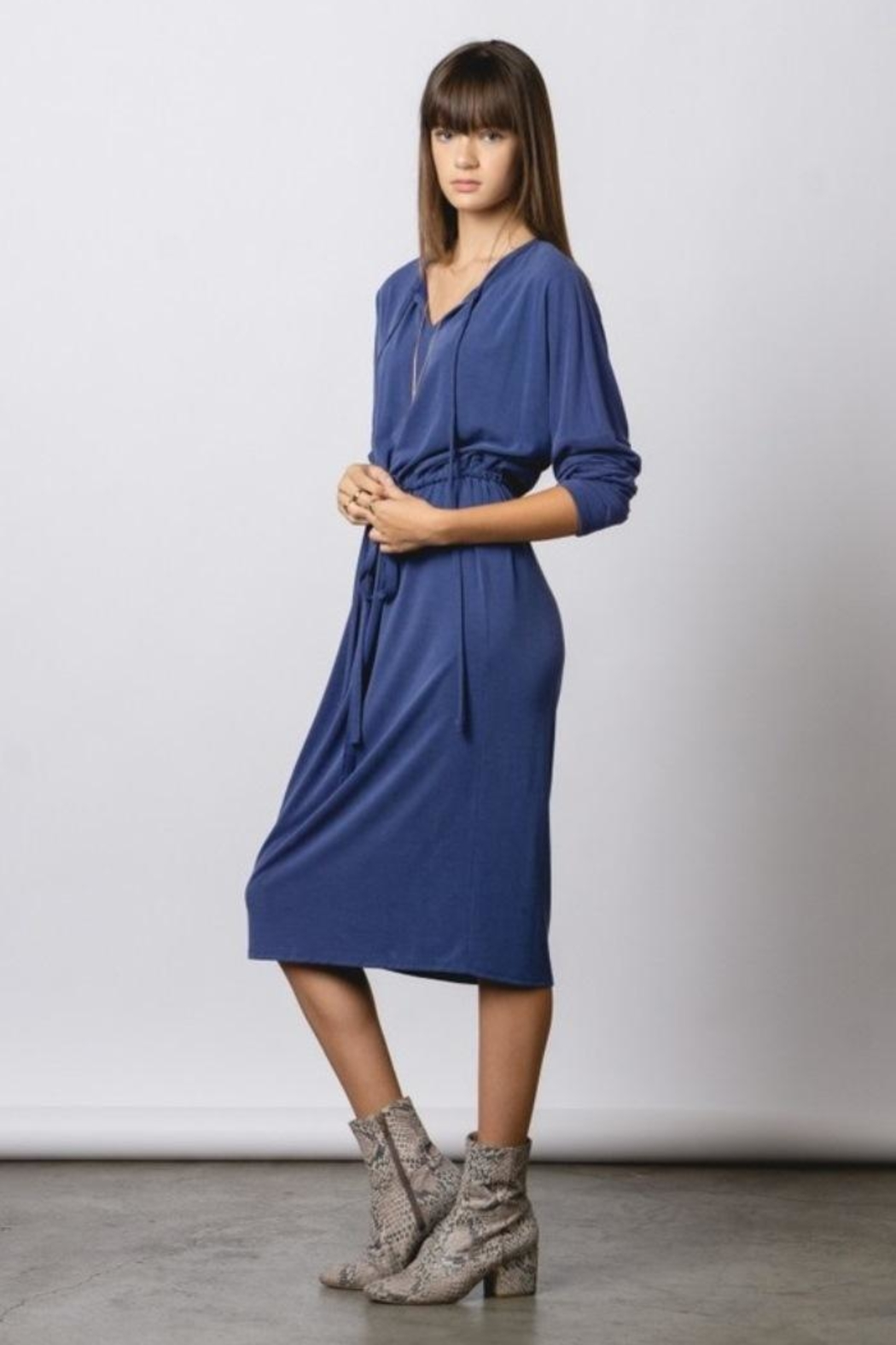 rokoko Tie Dress - Front Cropped Image