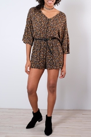 rokoko V-Neck Floral Romper - Product Mini Image