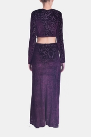 rokoko Velvet Filigree Maxi - Side cropped