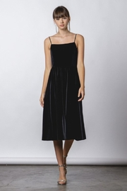 rokoko Velvet Midi Dress - Product Mini Image