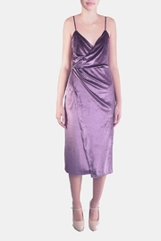rokoko Velvet Wrap Dress - Product Mini Image