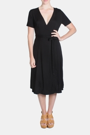 rokoko Noir Wrap Dress - Product Mini Image