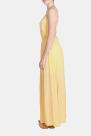 rokoko Yellow Corset Dress - Back cropped