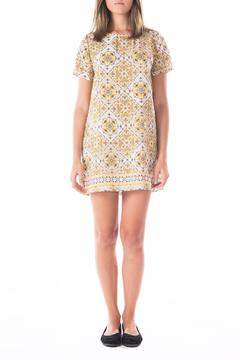Shoptiques Product: Yellow Patterned Shift