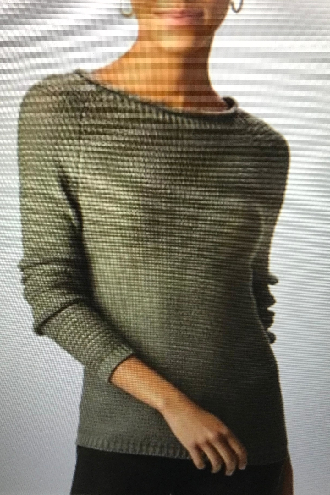 Charlie Paige Roll Neck Sweater - Front Cropped Image