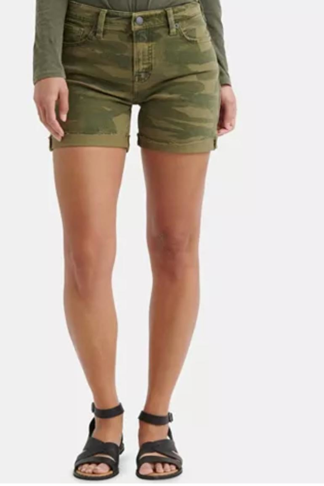Lucky Brand Roll Up Shorts - Main Image