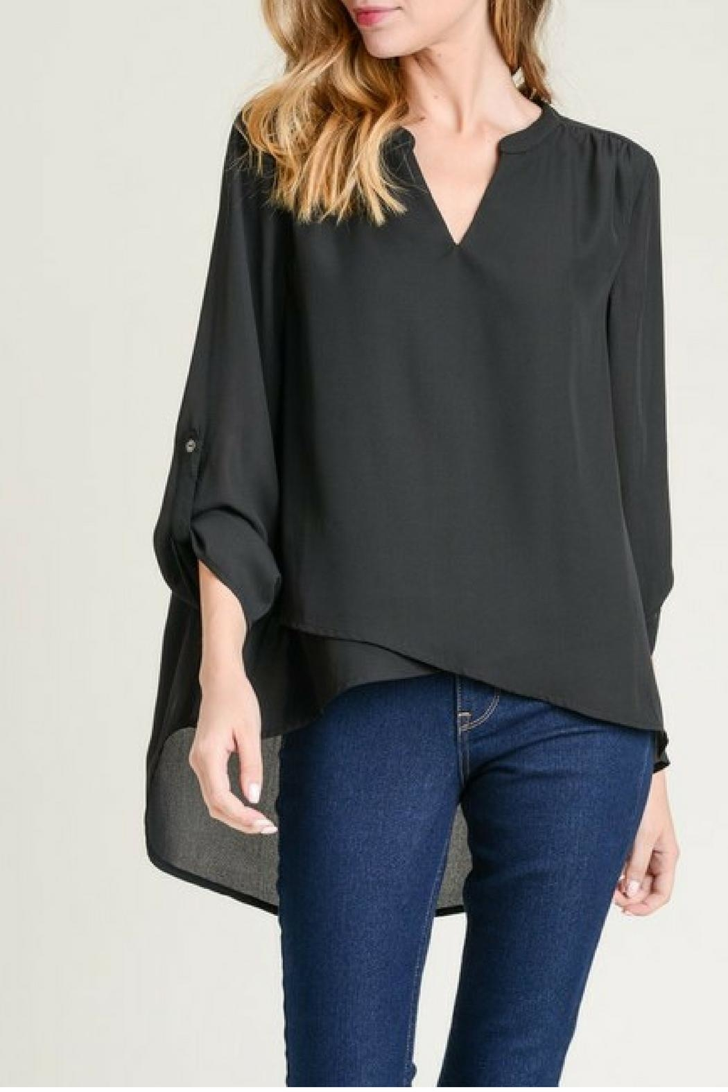 Jodifl Roll-Up Sleeve Blouse - Main Image