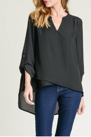 Jodifl Roll-Up Sleeve Blouse - Front cropped