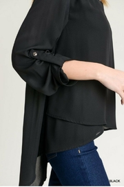 Jodifl Roll-Up Sleeve Blouse - Side cropped