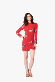 ROLLAS Red Rose Dress - Product Mini Image