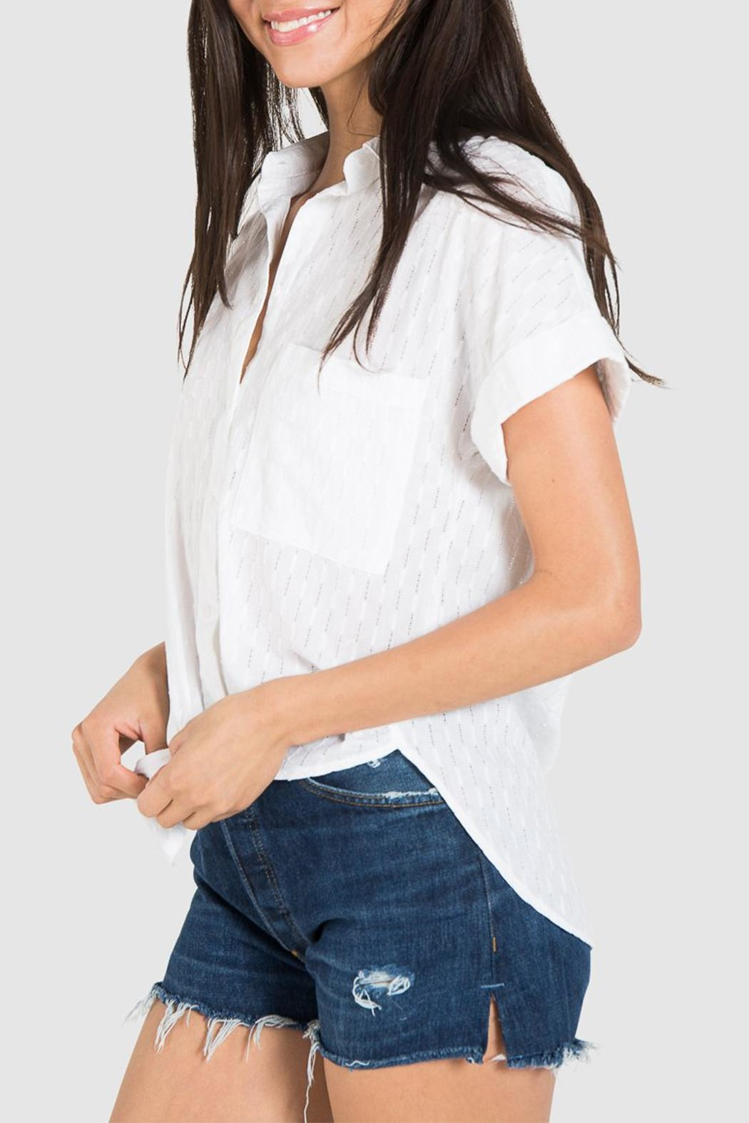 Bella Dahl Rolled Button Down - Front Full Image