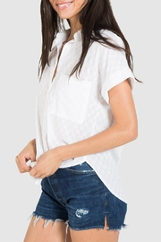 Bella Dahl Rolled Button Down - Front full body