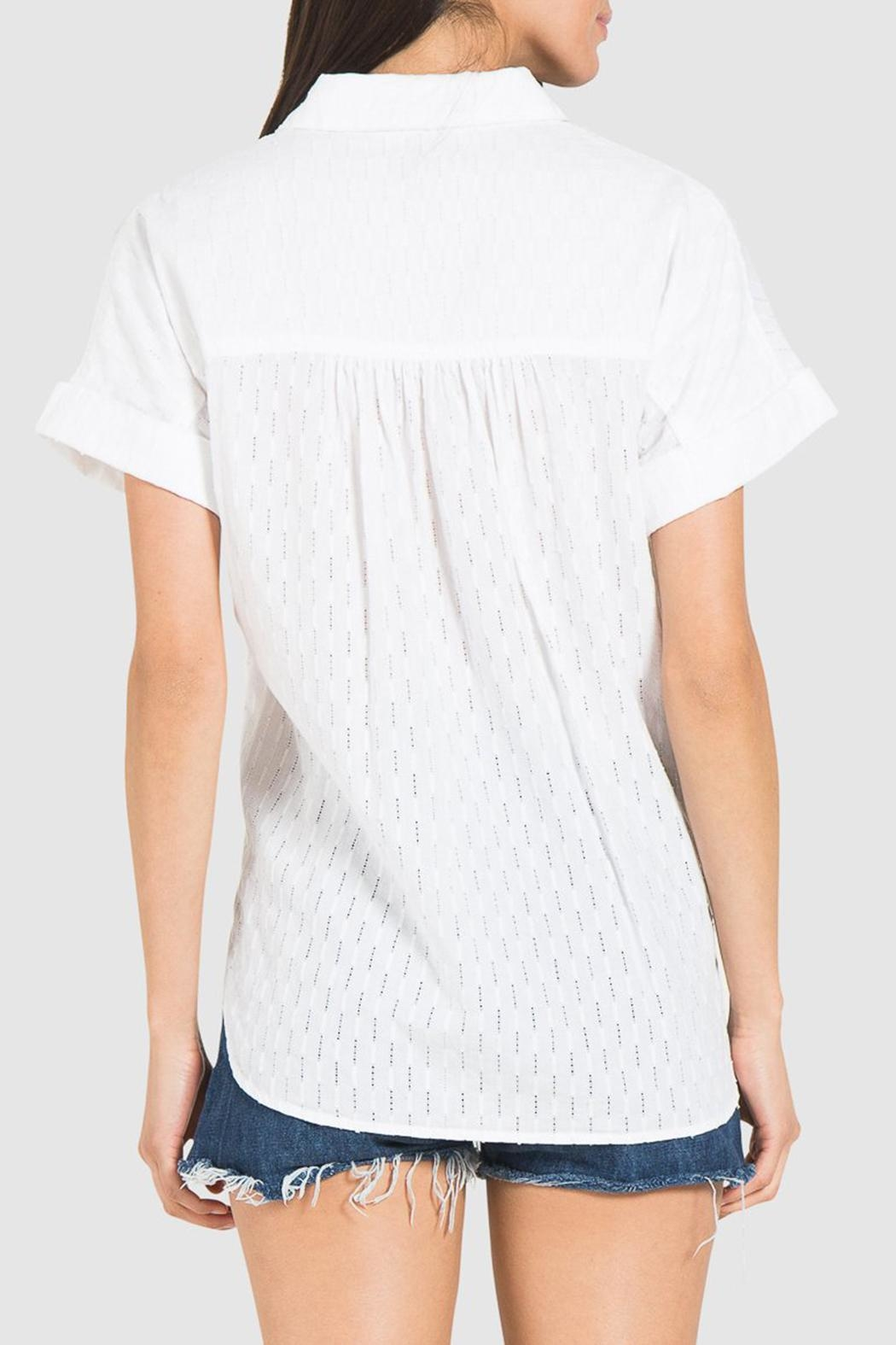 Bella Dahl Rolled Button Down - Side Cropped Image
