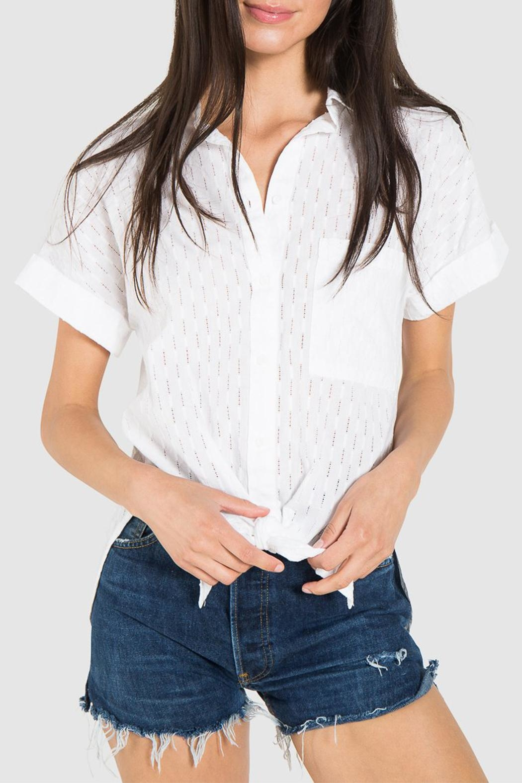 Bella Dahl Rolled Button Down - Main Image