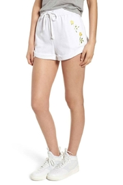 Kendall + Kylie Rolled Drawstring Short - Product Mini Image