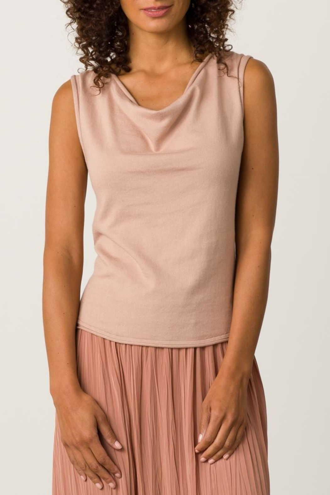 Margaret O'Leary Rolled Edge Tank - Main Image