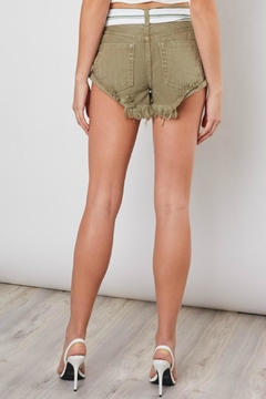 Pretty Little Things Rolled Hem Shorts - Alternate List Image