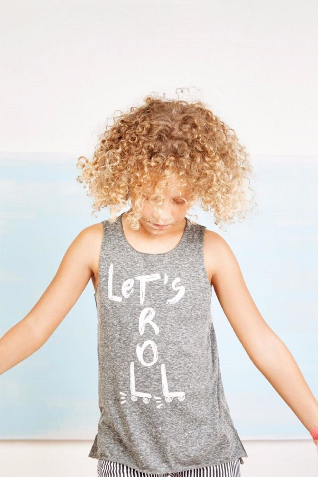 Play Up Rollergirl Tank Top - Side Cropped Image
