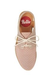 Rollie/Sidecut Lace Up Slingback - Front full body