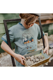 Souris Mini Rolling In My Greenhouse T-Shirt - Front full body
