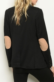 Roly Poly Black Elbow-Patched Blazer - Product Mini Image