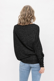ROLYPOLY Apparel Casual Pullover Dolman Batwing Sweater - Side cropped