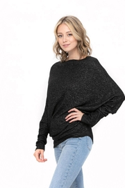 ROLYPOLY Apparel Casual Pullover Dolman Batwing Sweater - Front full body