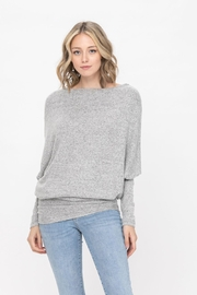 ROLYPOLY Apparel Casual Pullover Dolman Batwing Sweater - Other